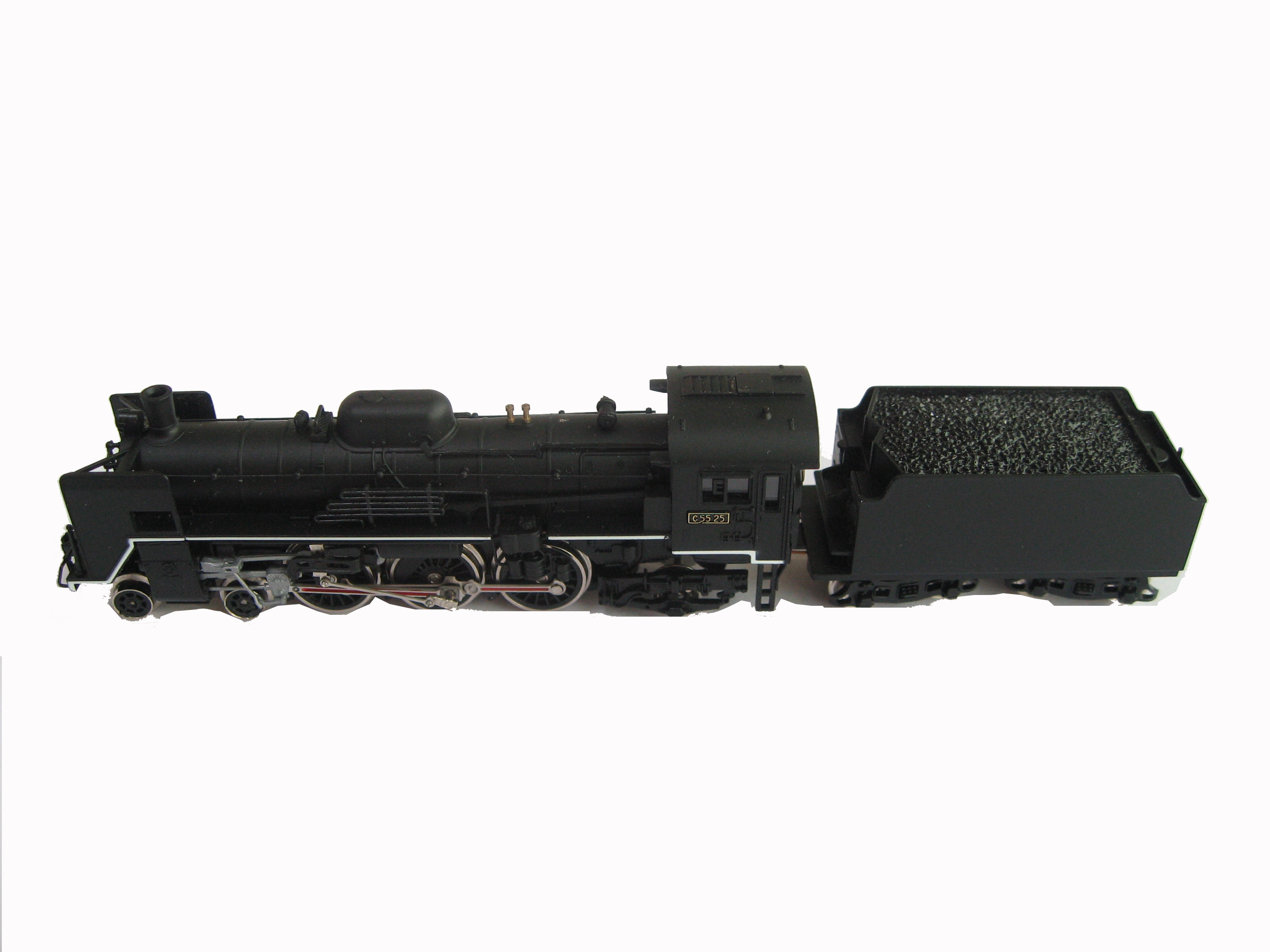 HO Scale Train Model Example